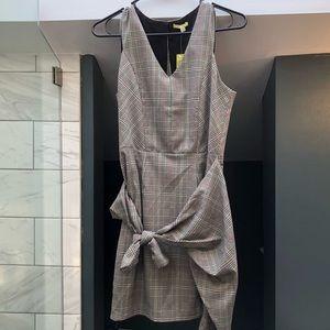 New Gianni Bini faux wrap work dress